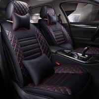 Универсальный кожаный сидений автомобиля автомобилей сиденья для Subaru Леоне Outback SVX Vivio trabeca BB Иран khodro Samand