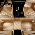 Esteiras do assoalho do carro dedicado completo cercado por ATS SRX XTS Tesla Model S à prova d' água tapetes sem odor tapetes antiderrapante para 5 assento de carro