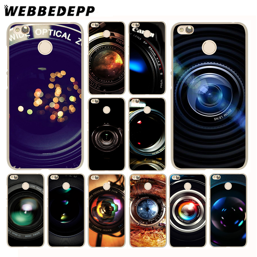 WEBBEDEPP Camera Art Case for Xiaomi Mi 8 SE A1 6 5X 5S Plus MiA1 Mi6 & Redmi Note 5 4 4X 4A 5A Prime Pro