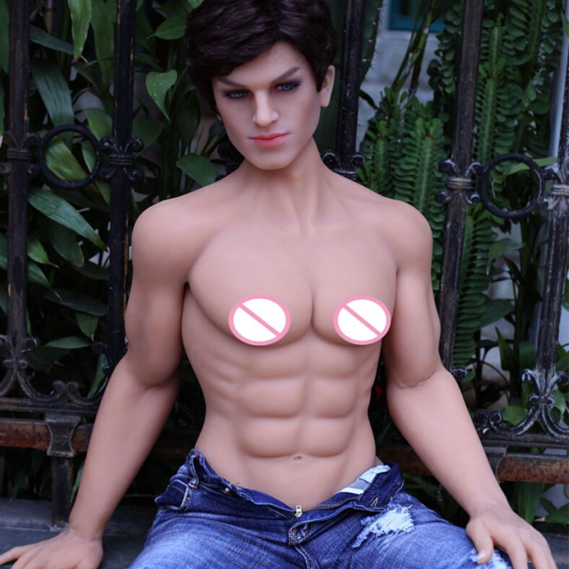 NEW 160cm real silicone male sex doll for women with big penis metal skeleton love doll