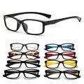 OUTEYE Moda UV400 Marco Del Espejo Del Llano Gafas Estudiante Multicolor Chica de Gafas Lente Transparente Gafas de Marca Marco Óptico Y1