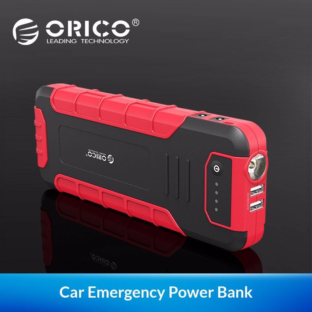 ORICO CS3 18000 mAh Мощность Bank Многофункциональный QC3.0 внешний Батарея двигатель автомобиля подпитывающая станция аварийная ситуация Мощность Bank