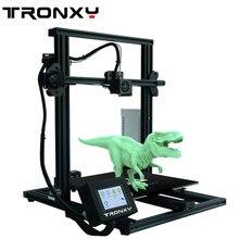 2019 новейший полностью металлический 3d принтер Tronxy XY-3 быстромонтируемый Магнитный Тепловая бумага 310*310 мм Горячая кровать 0,25 оптика волокно в подарок
