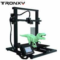 2019 plus récent métal 3D imprimante Tronxy XY-3 rapide assemblage magnétique papier thermique 310*310mm hotbed 0.25 KG PLA Filament comme cadeau