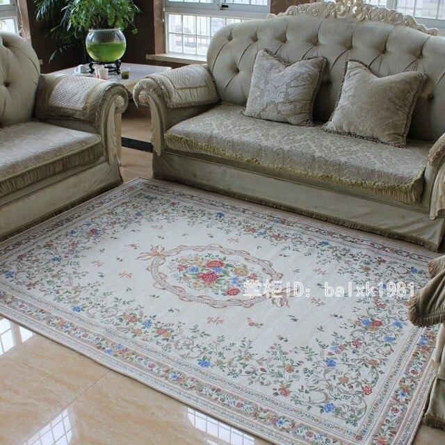 aliexpress.com : baumwolle teppich eur landhausstil teppiche für ... - Teppich Fur Wohnzimmer