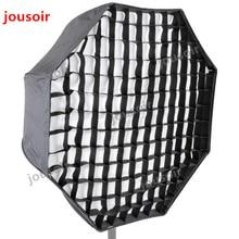 Godox Portable 80cm 32″ Umbrella + Honeycomb Grid Octagon Softbox Reflector Honeycomb Softbox for Flash Speedlight CD50