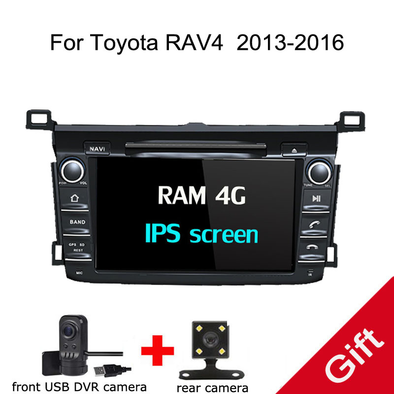 8 Android 8.0 PX5 Octa Core For Toyota RAV4 2013 2016 Car DVD Multimedia player GPS Navigation Autoradio dvd player
