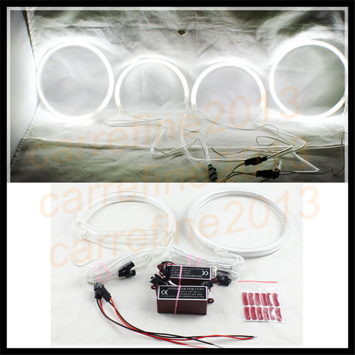 4Pcs For Lexus Is200Is300 Ccfl Led Angel Eyes For Toyota-8814