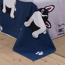 Solstice Cartoon Dog Pattern Bedclothes