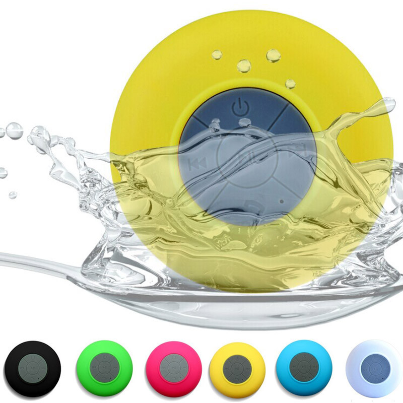 Factory wholesales Waterproof Portable Wireless Bluetooth Mini Speaker Handsfree Mic for iphone ipad ipod Samsung  LG PC