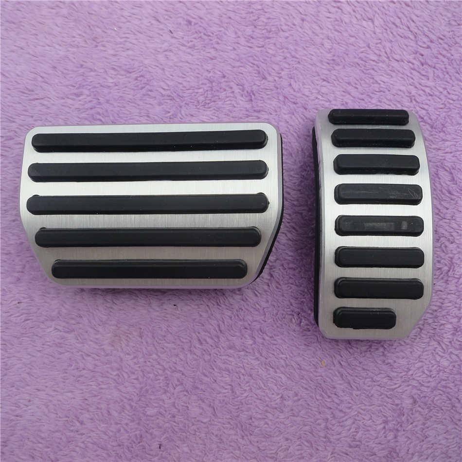 DEE алюминиевые автомобильные аксессуары для VOLVO XC60 S60 S80L S60L V60 V70 на акселераторе газа ног модифицированные педали - Название цвета: 2 PCS