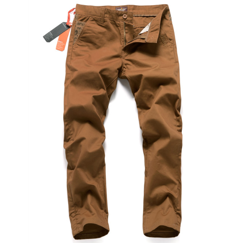 Fashion Casual Denim Brown Pants With Logo Hot Sale Mens Jeans Trousers Famous Brand Superably Jeans Men Cargo Pants 28-38 U217 2017 slim fit jeans men new famous brand superably jeans ripped denim trousers high quality mens jeans with logo ue237