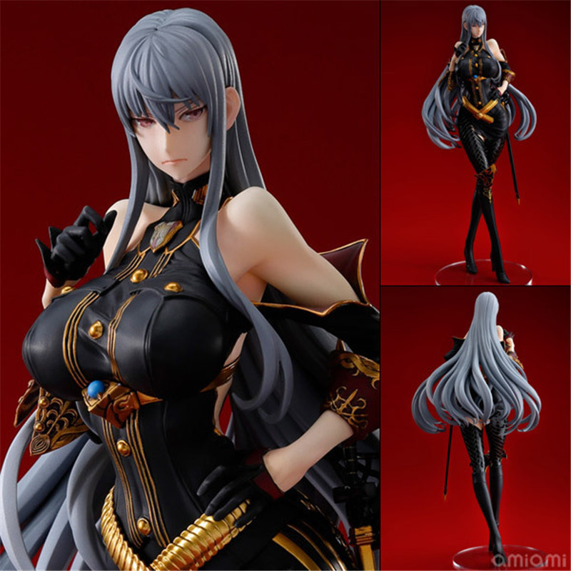 Newest Anime Valkyria Chronicles Selvaria Bles 1/7 Scale Sexy girl Action Figure Collection Model Toys 20cm juguetes Xmas gift valkyria chronicles remastered europa edition игра для ps4