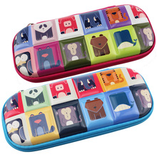 back to school pen boxes small for girl pencil case cartoon kawaii lovely bag avatar stationery young children
