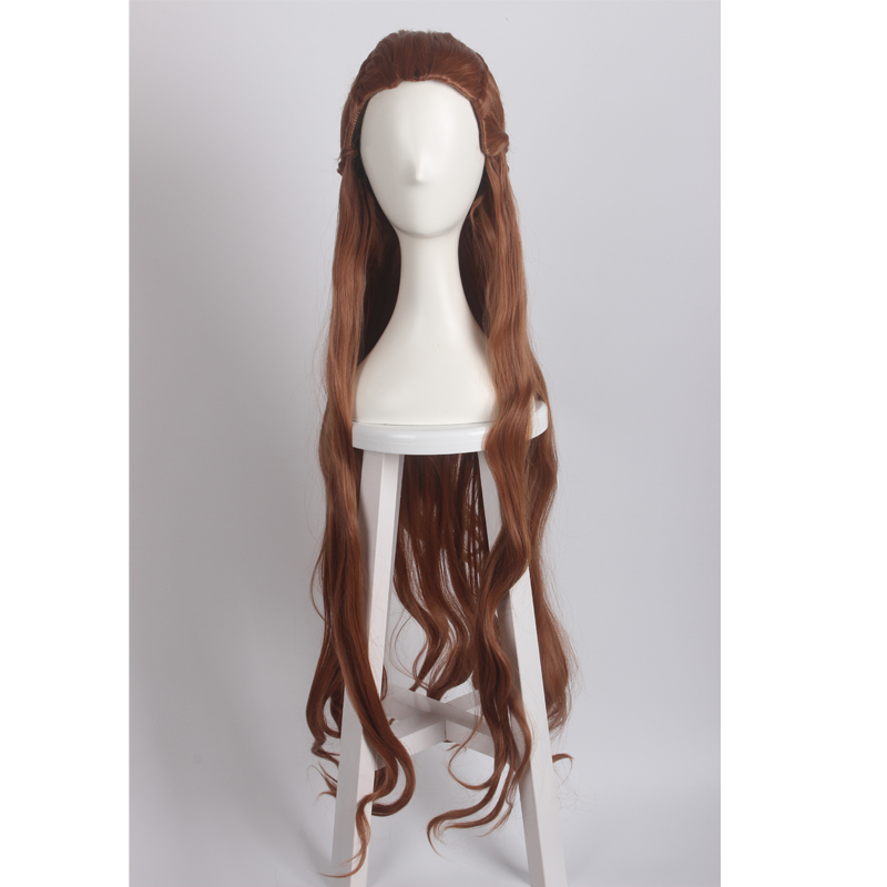The Hobbit Tauriel Long Anime Styled Braid Hair Curly Cosplay Wig
