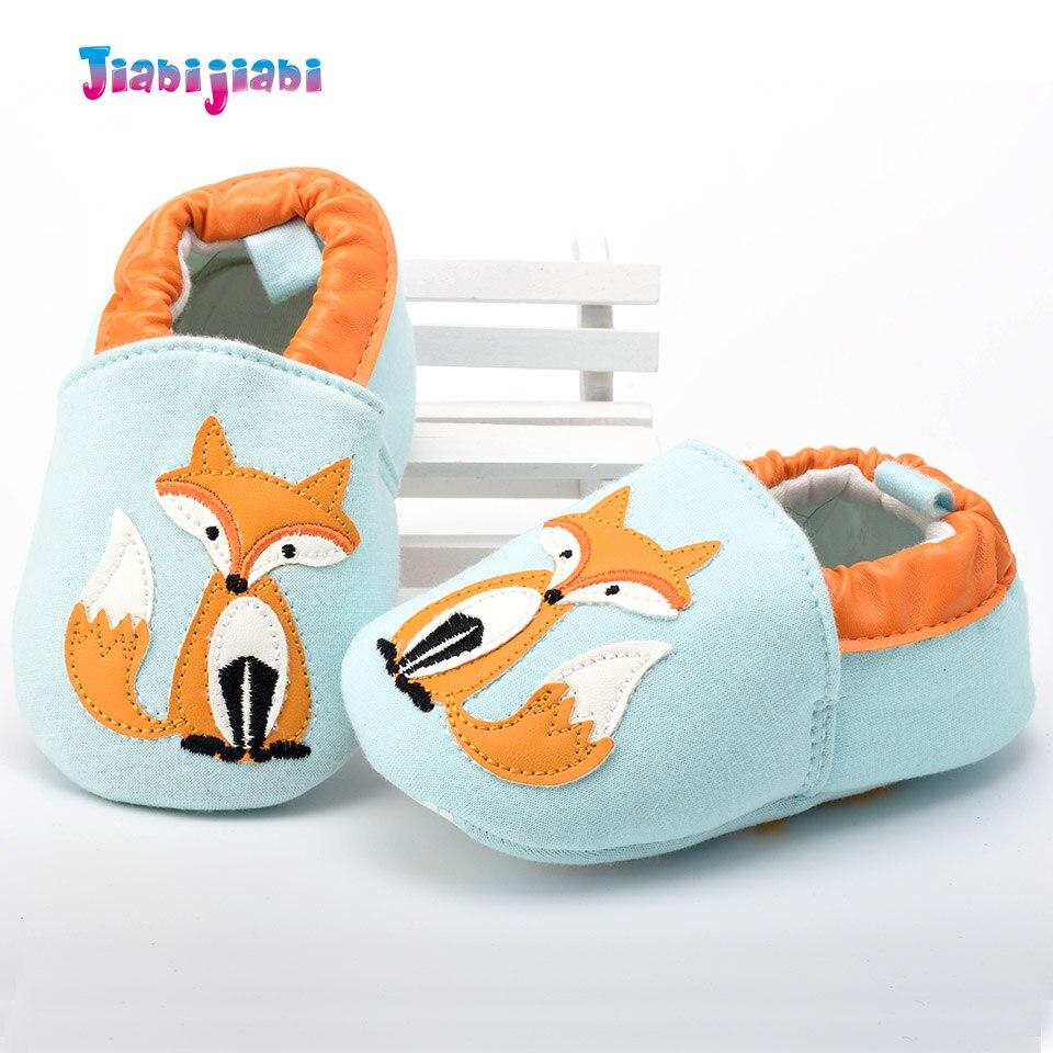 Mokasyny Niemowlę Dziewczyna Chłopcy Buty Prewalkers Toddler Fox - Buty dziecięce - Zdjęcie 4