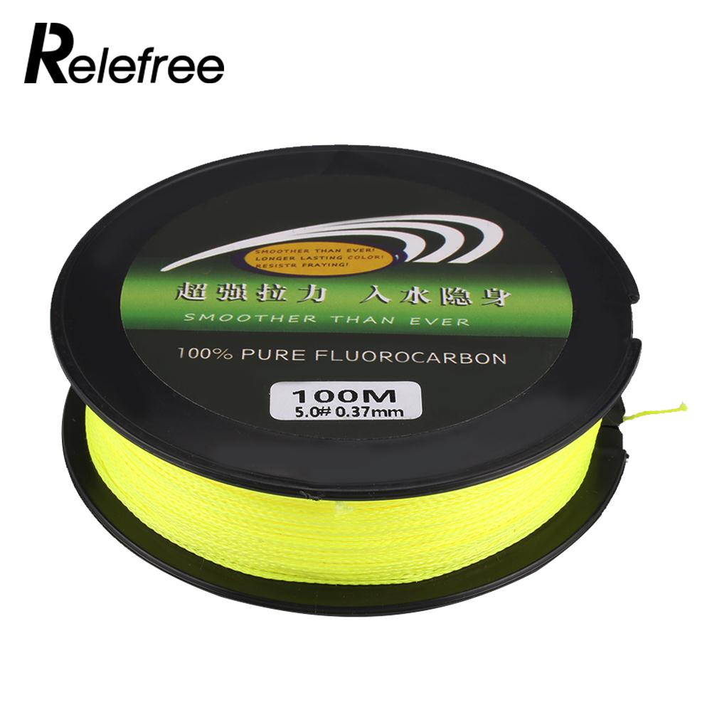Fish Line Fishing Wire Outdoor Portable 100m Pe Phone Wiring Yellow Durable Sea In Lines From Sports Entertainment On