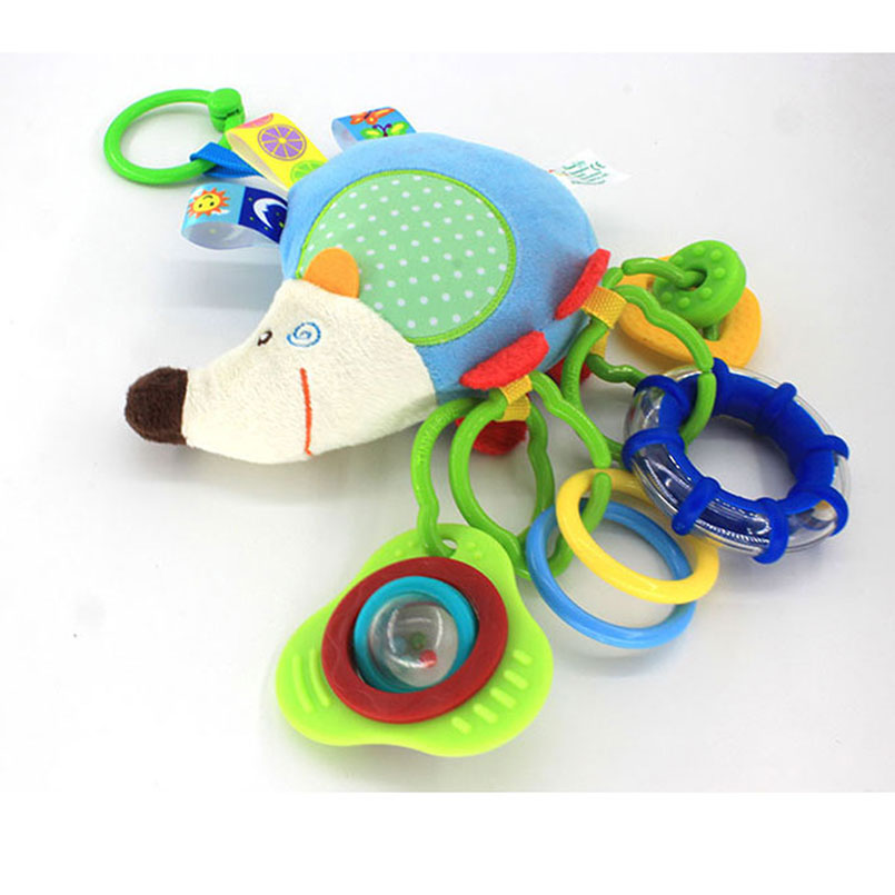 Baby Boys Girl Crib Cot Pram Hanging Rabbit Bear Rattle Bed Stroller Bell Toy 8C