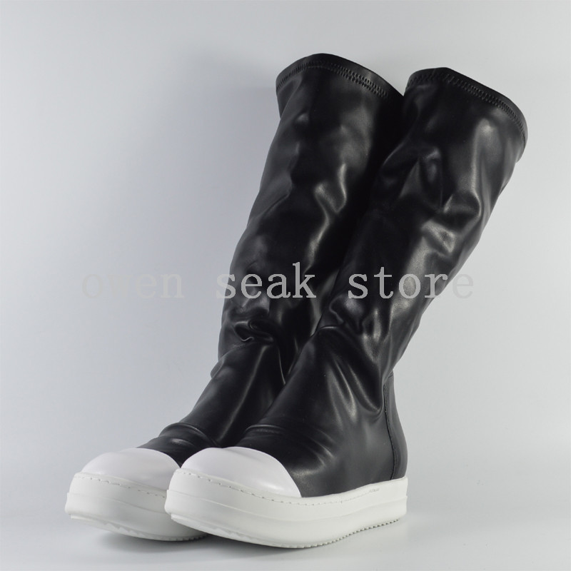Chaussures Neige Casual Bottes Seak Owen D'hiver Marque Haute Luxe Formateurs Femmes Mode Genou De Sneakers Noir Appartements Un6WHEW