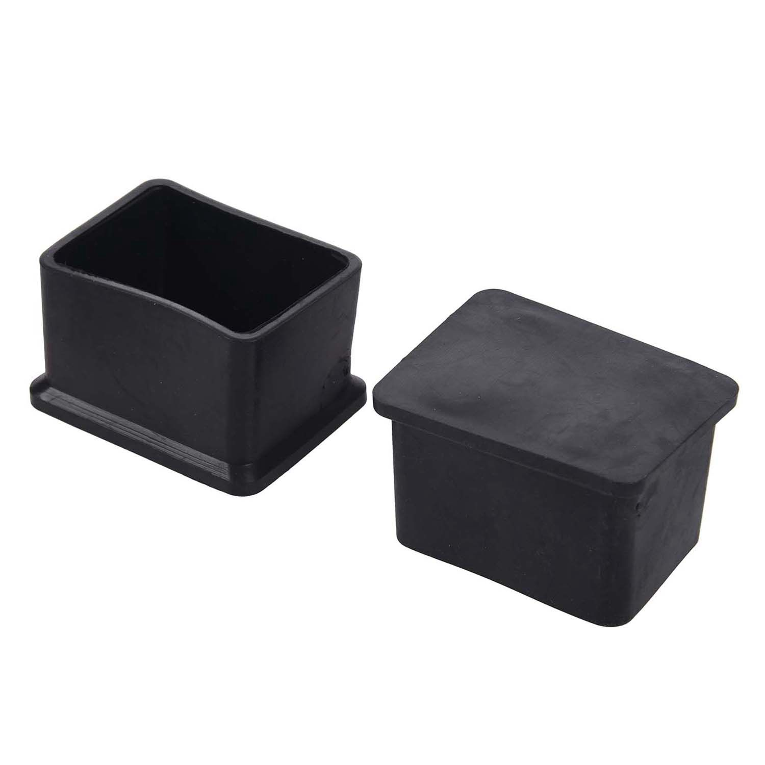 Hot Sale 10 Pcs Rubber 30x40mm Chair Table Foot Cover Furniture Leg Protectors цена