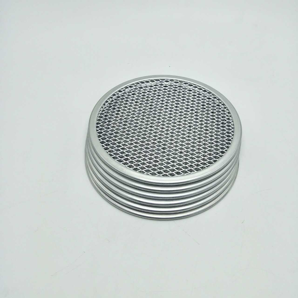Non-stick Pizza Screen Pan Baking Tray Metal Net In Multi-size Aluminum Pizza Stones For Kitchen Cooking Tools