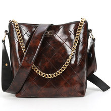 Vintage Bucket women Shoulder Bags 2019 New high quality PU leather Women's Designer Handbag Ladies Crossbody Bag Female tote цены