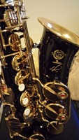 France Selmer 54 Black Nickel Gold Saxophone Alto Eb Sax Mouthpiece High Quality Sax 54 Instruments