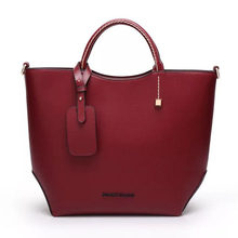 New big brand handbag women large bucket shoulder bag female
