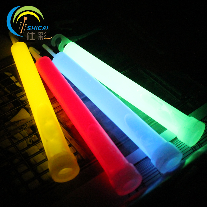 10PCS / Camping outdoor light tuba concert dance party decoration props adventure camp should aid stick glow stick Free Shipping