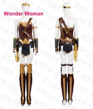 Movie Coser High Quality Custom Made Wonder Woman Cosplay Costume Wonder Woman Costume Set
