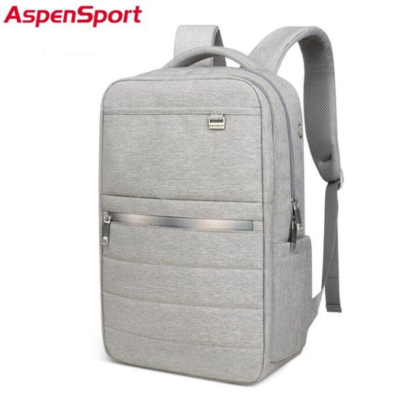 AspenSport Neue Student Rucksack polyester Rucksack Tasche Für 17 Zoll Laptop männer Reisetasche Rucksack Für Teenager Frauen Rucksack-in Rucksäcke aus Gepäck & Taschen bei  Gruppe 1