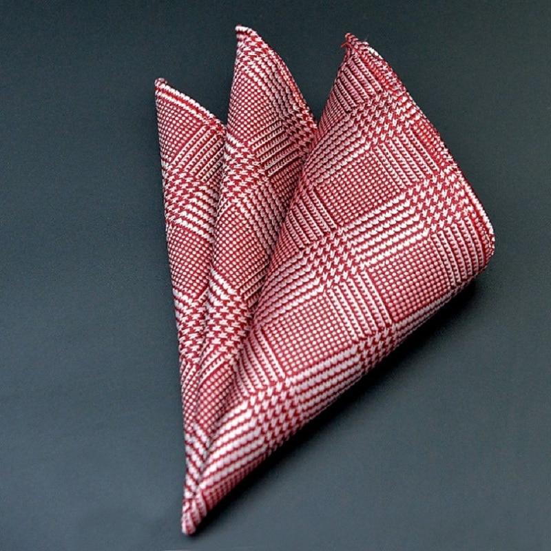 1 Piece Vintage Style Cotton Linen Handkerchief Floral Pocket Square Wedding Party 25*25cm Hankies Men's Brand Towel Casual