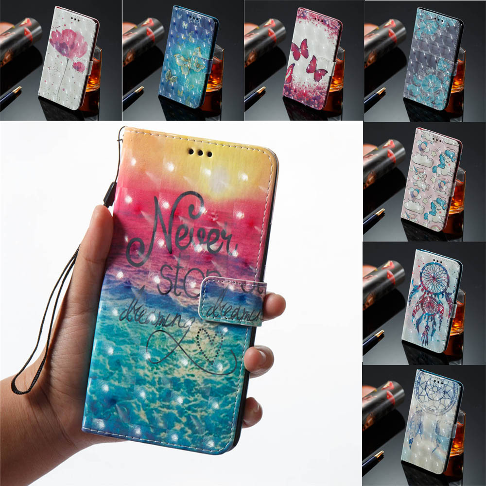 Flip Wallet Card Unicorn Cover For Xiaomi Redmi Note 5 Pro Meg7s Phone Pu Case For Xiaomi Red Note5 Pro Tpu Silicone Box Capa Cellphones & Telecommunications