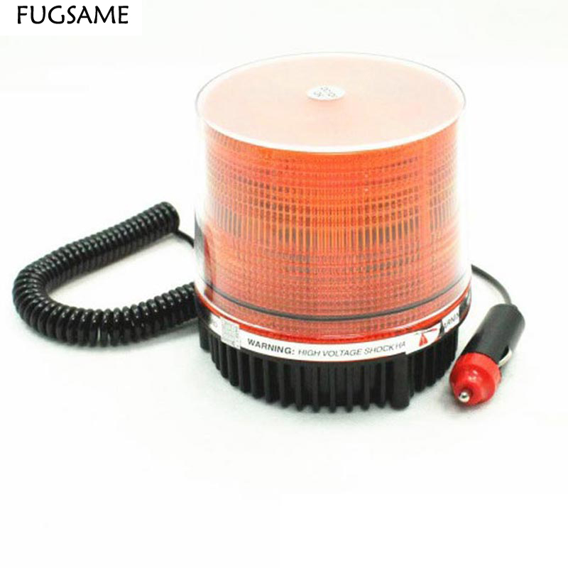 roof lights Engineering vehicle fire Car decoration led flash lamp refires warning lamp ceiling accessories AMBER