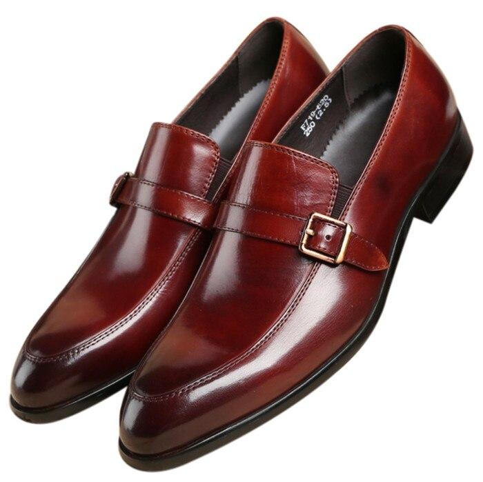 Preguiçosos Couro Baile Genuíno Preto Escritório Sapatos Dos Black Homens Meninos Casamento De tan Moda Se Vestem tan AEwqRRF