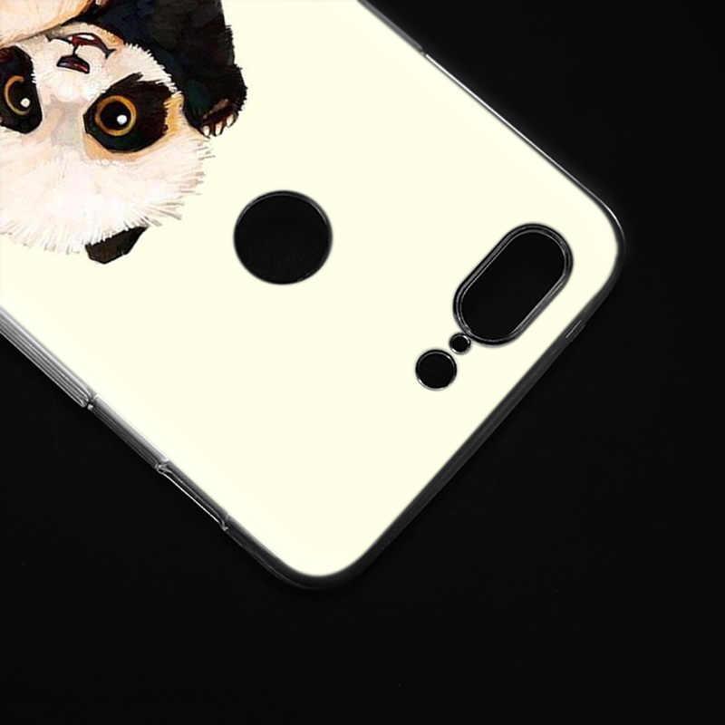Мягкий силиконовый чехол с рисунком панды из ТПУ для Oneplus 7 5G 6 6T Pro Coque резиновый чехол аксессуар высокого качества