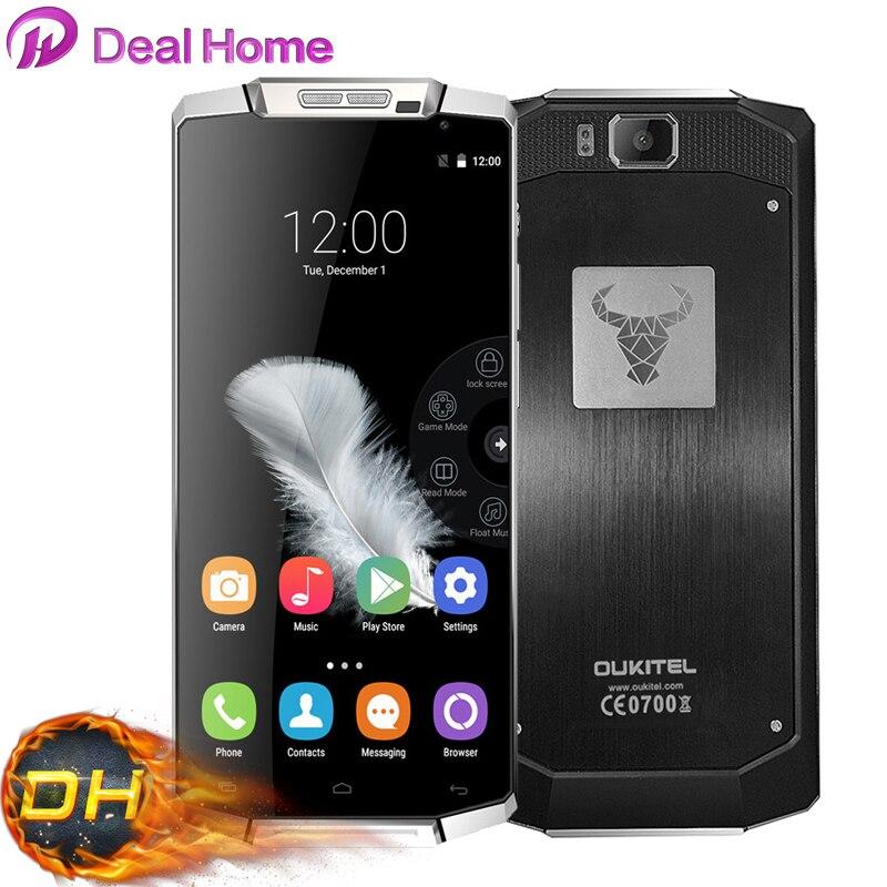 Цена за Оригинал 10000 мАч Супер Большая Емкость Oukitel K10000 Смартфон Android 5.1 Леденец 5.5 дюймов 720 P 4 Г 13MP Камера мобильный Телефон