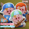 ZHAIDIANSHE 3styles Anime Mcdull Short Plush Bolster Official Authorization