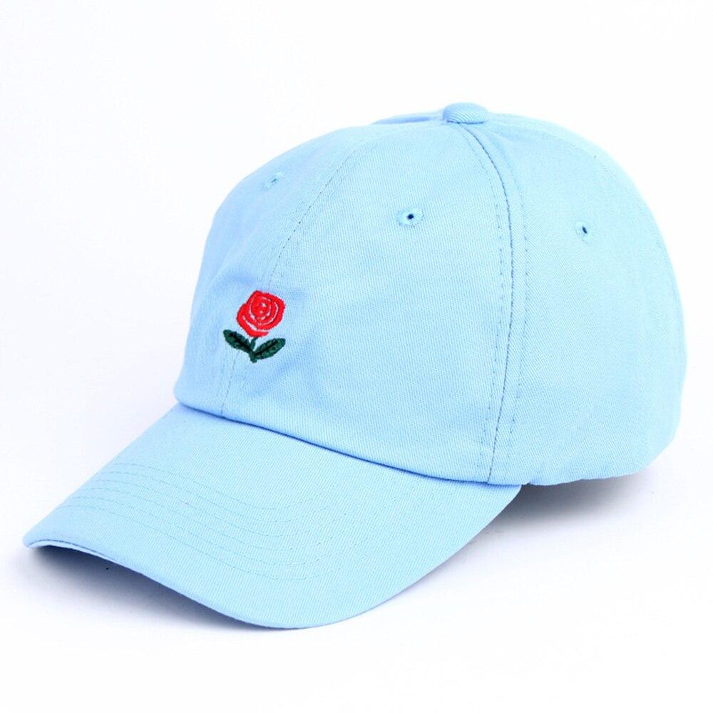 Nouveau Rose Papa Chapeau Drake Sanpback Fleur D Ete Broderie