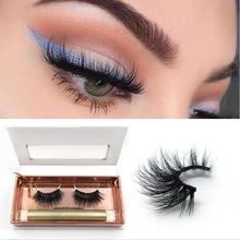 3D Magnetic Liquid Eyeliner & False Eyelashes Set NEW No Residue Convenient And Easy To Operate