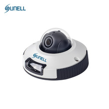 SUNELL M1ZD 4MP Camera HD 1080P Mini Dome Day Night CCTV Camera with POE