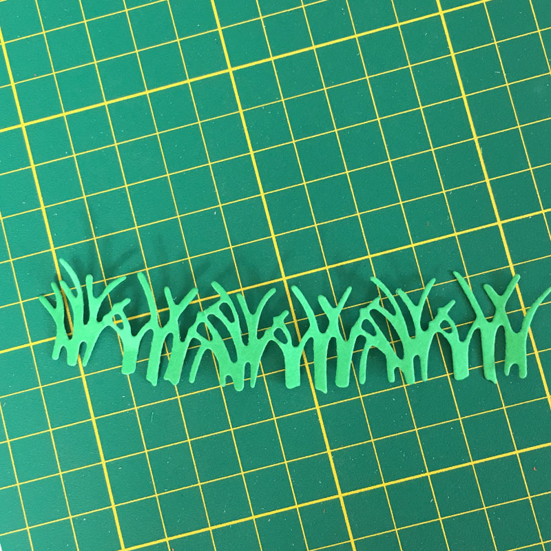 Grass Metal Dies Cutting die cut DIY Decorative Embossing Scrapbooking Collect Craft Create Stamps card Stencil in Cutting Dies from Home Garden