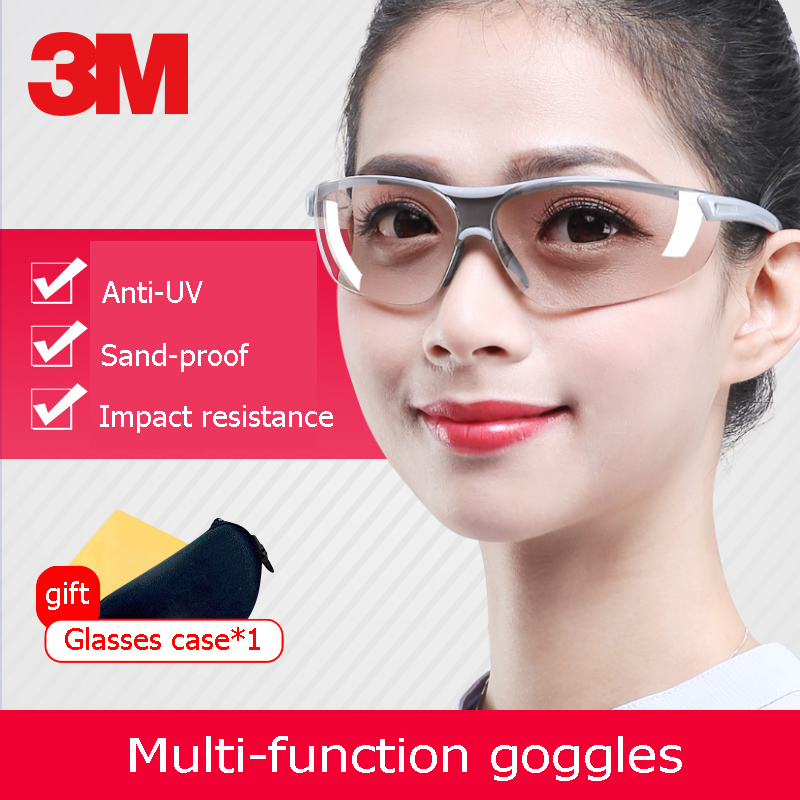 3M Safety Goggles Industrial Anti-splash Safety Glasses Riding Windproof UV Protection Impact Resistance Multi-function Goggles