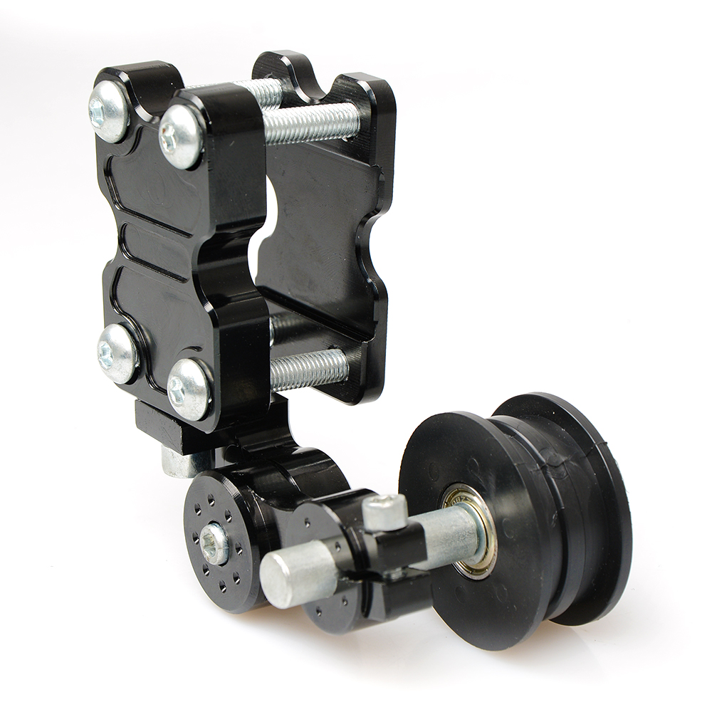 Motorcycle Adjustable Aluminum Chain Tensioner adjuster Bolt on Roller Motocross Dirt Street Bike ATV for Honda kawasaki yamaha right 2 8t 2 7t v6 cylinder 1 3 camshaft adjuster timing chain tensioner for vw passat b5 superb a4 a6 a8 078109088c