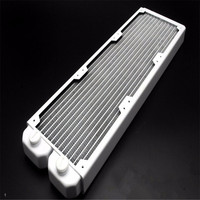 Cool K FULL COPPER Bright White 360 Computer Water Cooling Radiator 120mm X 395mm X 28mm
