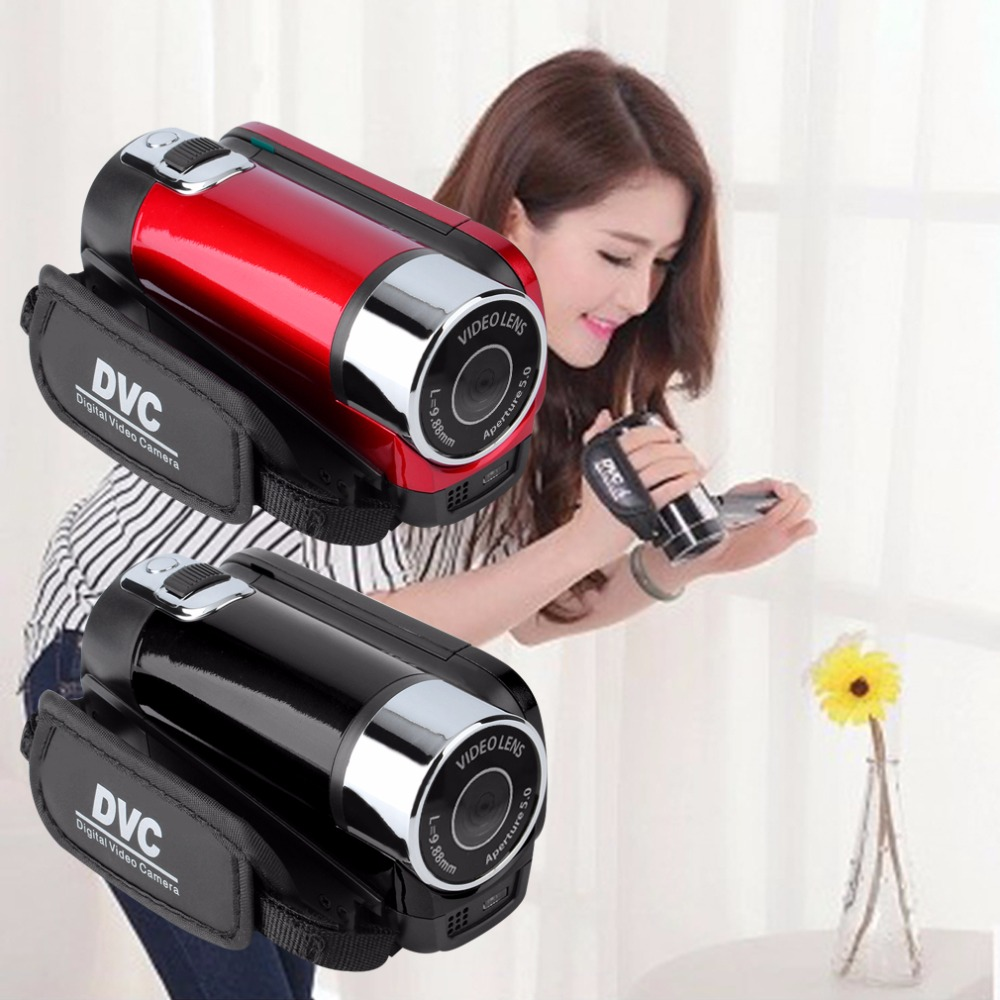 все цены на Mini Portable 2.7 Inch Digital Video Camera Camcorder TFT LCD Screen Full HD 720P 16x Zoom DV Camera COMS Video Recoding онлайн
