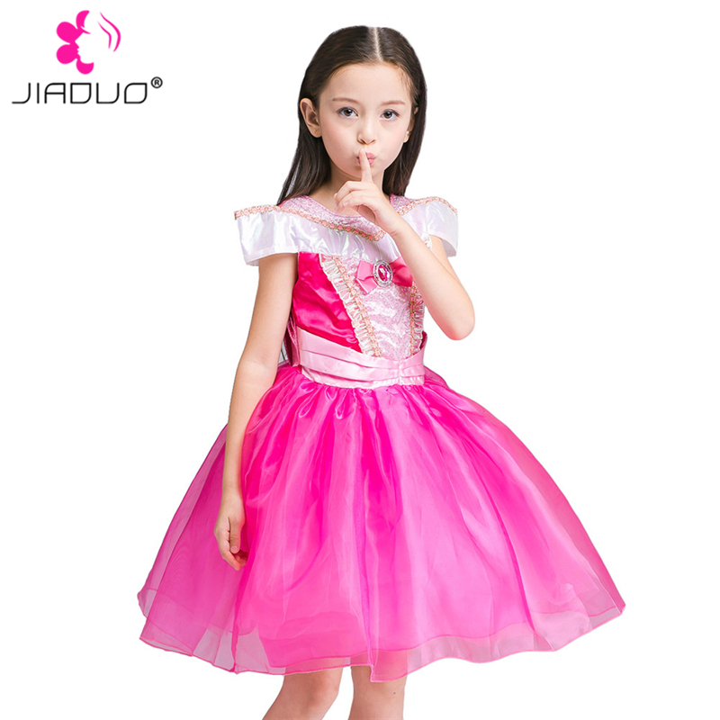 Cinderella Princess Character Dress Child 3t 4t 5 6 7: JiaDuo Baby Girls Princess Dress Aurora Cinderella Costume