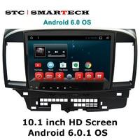 10 1 Pure Android 6 Rom 16G GPS Navigation For Mitsubishi Lancer 2009 2010 2012 2013