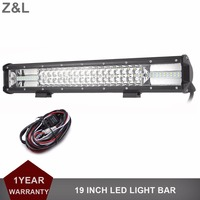 LED Work Light Bar 19 Inch 270W For Truck Trailer 4x4 4WD SUV ATV Off Road
