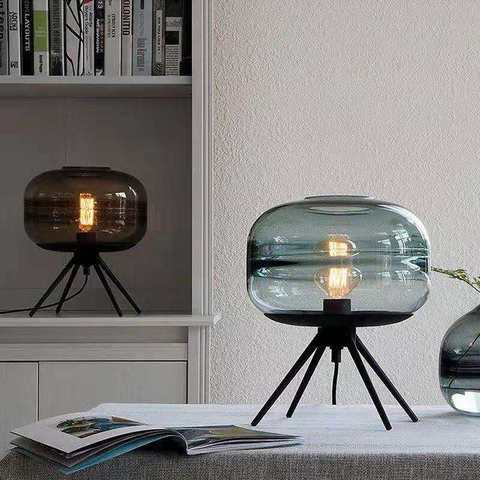 led desk luz foyer quarto lampada de